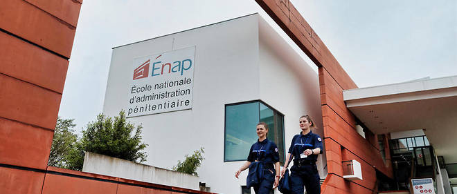 Formation des gardiens de prison à l'École nationale d'administration pénitentiaire (Enap).