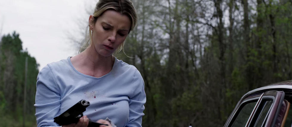 <p>Betty Gilpin dans le film << The Hunt >>.</p>