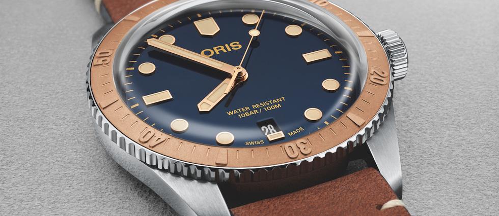 <p>Une version bicolore de la Divers Sixty-Five.</p>