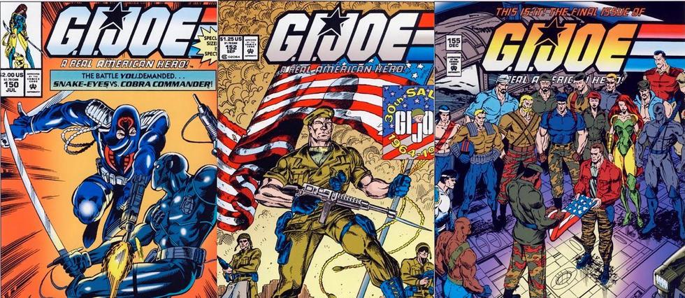 <p>G.I. Joe aura droit à sa série de comics Marvel</p>