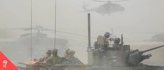 Un véhicule de l'armée française au Mali.