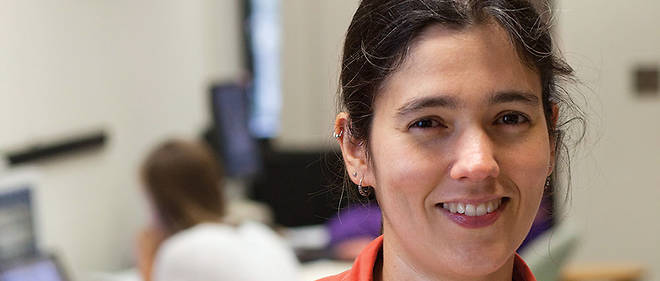 La biologiste Luana Maroja, professeure au Williams College (Massachusetts).