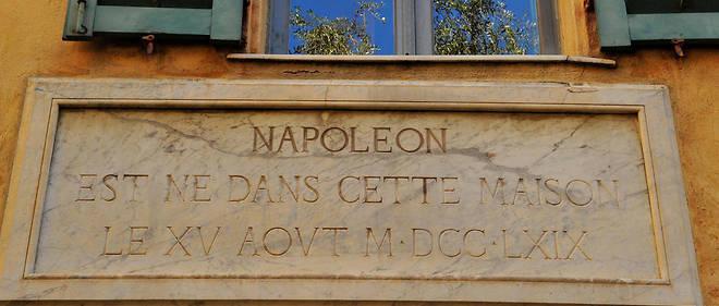 La maison Bonaparte à Ajaccio.