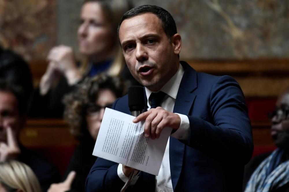 Adrien Taquet ©  STEPHANE DE SAKUTIN / AFP