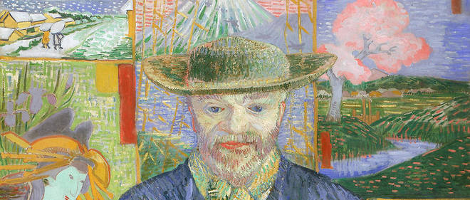 Vincent van Gogh, Le Père Tanguy, 1887.Huile sur toile, 92 x 75 cm. Paris, musée Rodin.