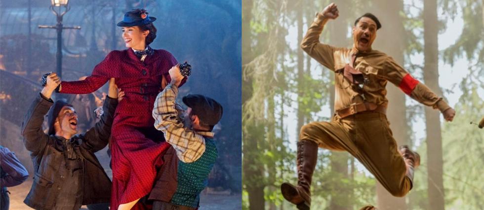 <p>«Mary Poppins Returns» et «Jojo Rabbit», deux productions de deux firmes aux cultures différentes: Disney et la Fox.</p>