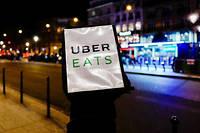 Le suspect travaillait pour Uber Eats avec les comptes d'autres personnes, selon les premiers éléments de l'enquête. Photo d'illustration.