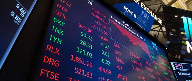Le Dow Jones a plongé en cours de séance. Photo d'illustration.