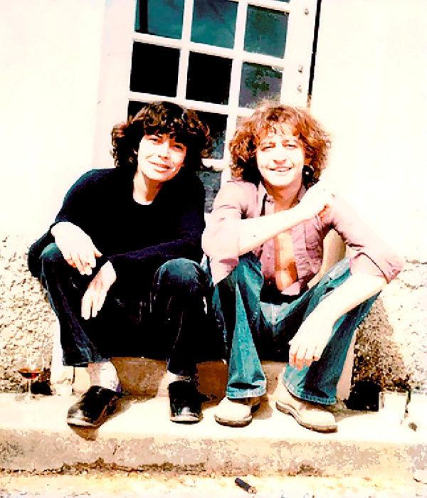 Inséparables. Anne Sefrioui et Philippe Muray, dans les années 1970.