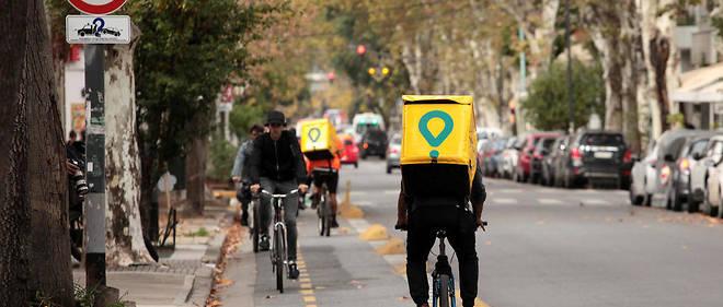 À Buenos Aires, les accidents impliquant des coursiers ont fortement augmenté ces derniers mois.
