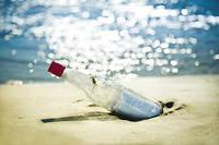 Craig Drover a jeté la bouteille le 14 mai 2018. Elle aura donc mis quinze mois à traverser l'Atlantique. Image d'illustration.