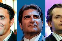 Trois candidats sont sur la ligne de départ pour prendre la tête des Républicains.