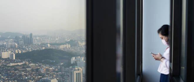 Pollution à Séoul (image d'illustration).