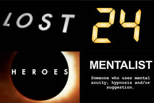 «Lost», «Heroes», «24Heures chrono» et «Mentalist», des génériques-cartons.