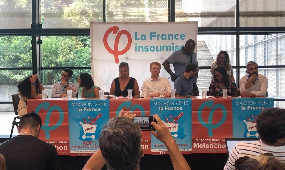 """France Insoumise ©  Erwan Bruckert pour """"Le Point"""""""