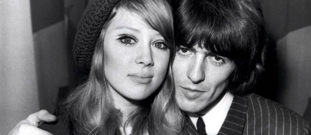 GeorgeHarrison pose avec sa femme Pattie Boyd qui lui a inspiré le tube «Something».