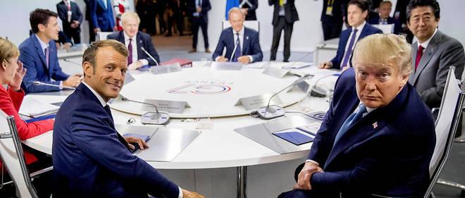 Le 25 août à Biarritz, les grands de ce monde échangent sur le commerce mondial et la sécurité.