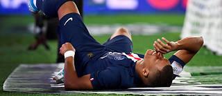 Kylian Mbappé souffrirait d'une « déchirure musculaire » à l'arrière de la cuisse gauche.
