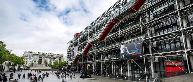 Le Centre Pompidou sera en travaux jusqu'en septembre 2020.