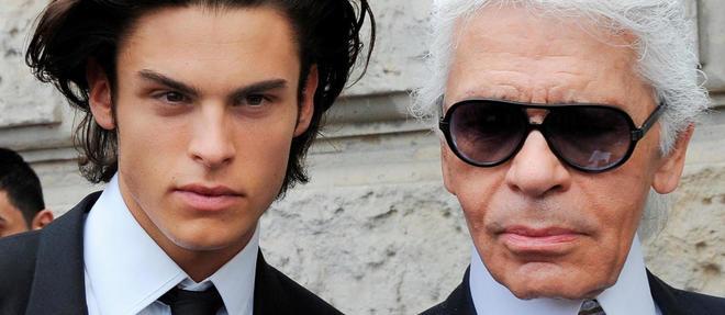 On a beaucoup glosé sur les liens particuliers qui unissaient le mannequin Baptiste Giabiconi et Karl Lagerfeld.