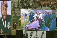 Images des funérailles de DJ Arafat au stade Houphouët-Boigny ce 31 août 2019.