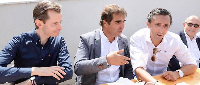 Christian Jacob, Guillaume Larrivé et Julien Aubert sont candidats pour prendre la tête du parti. Tous trois étaient présents, le 31 août à La Baule, pour la rentrée des Républicains (LR).