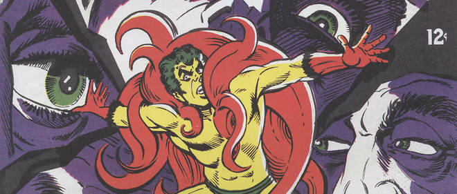 Couverture de Beware The Creeper n? 2, juillet-aout 1968. Illustration de Steve Ditko. Editions DC Comics.