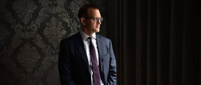 Daniel Kretinskyen avril 2018, dans les bureaux de EPH à Prague.