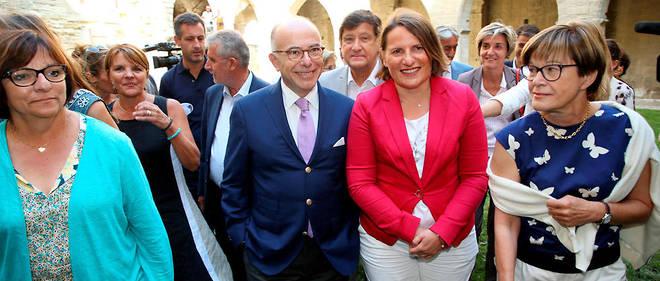 L'ancien Premier ministre Bernard Cazeneuve à Avignon le 5 septembre 2019.