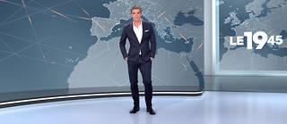 Xavier de Moulins est aux commandes du «19:45» en semaine depuis 2010.