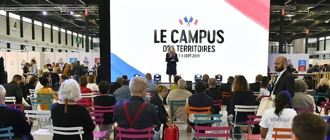 La ministre de la Justice, Nicole Belloubet, lors d'un débat, le 7 septembre, à Bordeaux.