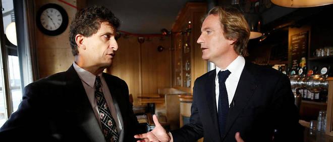 En 2014, Serge Federbusch (à gauche) était sur la liste de Charles Beigbeder pour l'élection municipale.