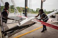 Signe que l'Afrique est résolument engagée dans une démarche de conquête technologique : le Ghana s'est mis dans le transport par drones de fournitures médicales dans des zones isolées grâce à la société Zipline.