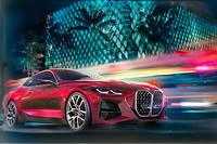 BMW tourne autour du double haricot maison qu'il souhaite faire grandir. Mais sur un coupé comme le Concept 4, est-ce vraiment indiqué ?