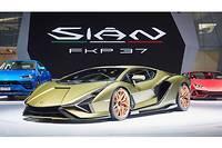 La Lamborghini Sian FKP37 est en retard pour l'hybridation mais en avance en faisant appel aux supercondensateurs plutôt qu'à une batterie