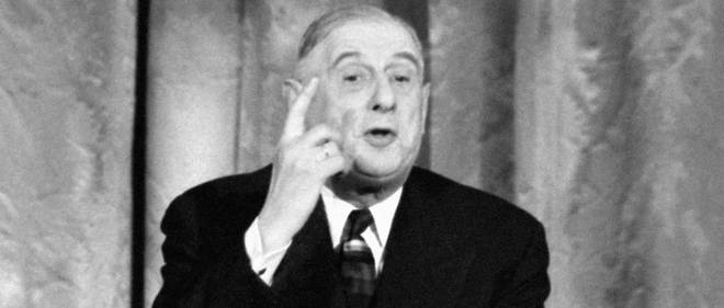 Le general de Gaulle avait des idees tres avancees sur les institutions europeennes.