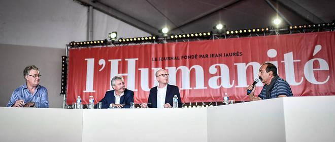 Lors d'un débat organisé à la Fête de l'Humanité samedi 14 septembre 2019, Philippe Martinez, patron de la CGT, a critiqué devant Jean-Paul Delevoye le système à points du projet de réforme des retraites.