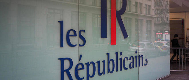Siège du parti Les Républicains (LR).