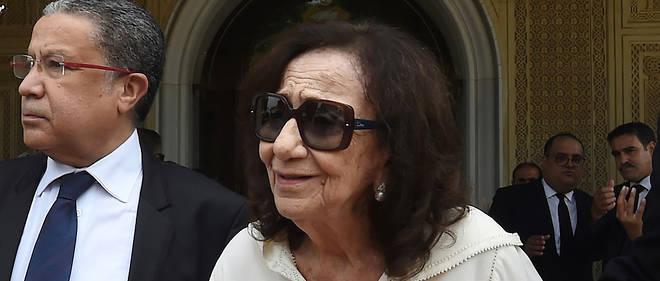 Mme Essebsi, 83 ans, avait accueilli en juillet les nombreux chefs d'Etat venus rendre hommage à son mari décédé à l'âge de 92 ans.