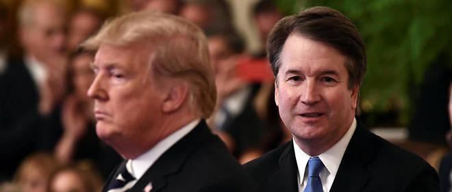 """Pour Donald Trump, Brett Kavanaugh est """"innocent"""" face à ces nouvelles accusations."""