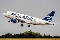 La flotte d'Aigle Azur comptait onze avions.