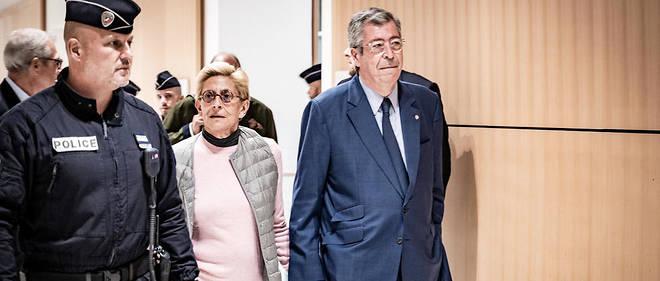 Patrick et Isabelle Balkany arrivant au palais de justice de Paris vendredi 13 septembre.