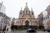 Cathedrale russe orthodoxe Saint-Alexandre-Nevski, rue Daru a Paris.