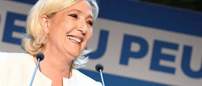 Marine Le Pen estime qu'aucun autre candidat qu'elle «n'émerge» de son parti pour la future présidentielle.