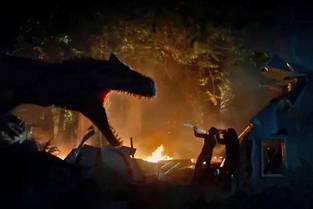 """Jurassic World : Battle at Big Rock""."