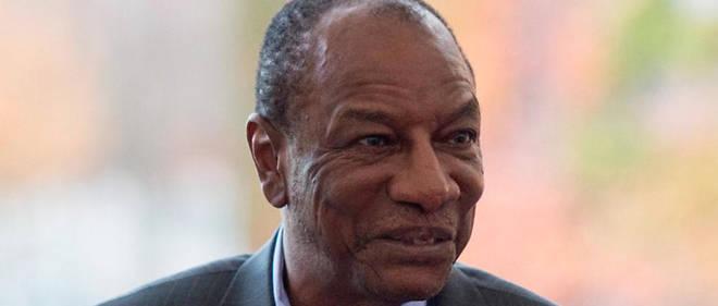 Le président Alpha Condé dirige la Guinée depuis 2010.