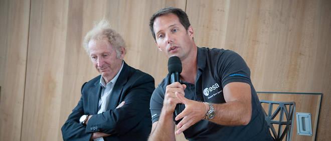 Thomas Pesquet est le nouveau parrain de l'ONG Aviation sans frontières.