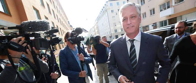 Robert O'Brien en août 2019 à Stockholm, où il a été dépêché par Donald Trump avant le procès contre le rappeur américain A$APRocky.