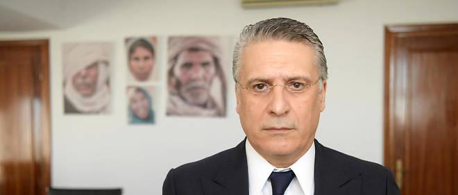 Le magnat controversé des médias Nabil Karoui a été arrêté et incarcéré le 23 août.