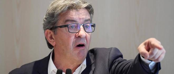 Jean-Luc Mélenchon, leader de La France Insoumise est jugé à Bobigny.